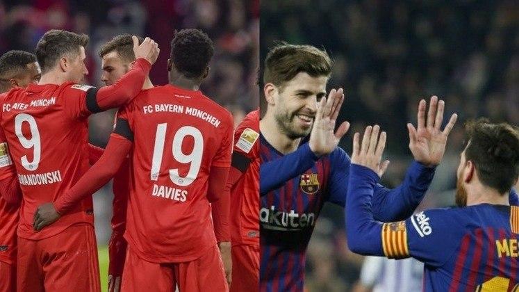 O duelo entre Barcelona e Bayern de Munique será no próximo sábado, às 16h (horário de Brasília), no estádio da Luz.