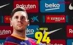 O eFootball PES 2021 anunciou, em post nas suas redes sociais, a pontuação geral do principal astro do game Lionel Messi. Em parceria com o Barcelona, a Konami escolheu o craque como capa do jogo. Messi terá o overall (força) de 94 na nova edição do game. Pensando nisso,o L! preparou uma galera mostrando a evolução do craque, em gráficos e pontuação geral, durante toda sua 'carreira' dentro do PES. Confira!