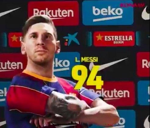 O eFootball PES 2021 anunciou, em post nas suas redes sociais, a pontuação geral do principal astro do game Lionel Messi. Em parceria com o Barcelona, a Konami escolheu o craque como capa do jogo. Messi terá o overall (força) de 94 na nova edição do game. A reportagem preparou uma galera mostrando a evolução do craque, em gráficos e pontuação geral, durante toda sua carreira dentro do PES. Confira!