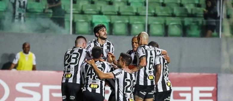 O elenco do Atlético-MG está avaliado no mercado em R$ 319 milhões