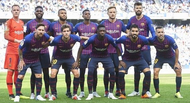 O elenco do Barcelona é o mais valioso da Liga dos Campeões 2018/19