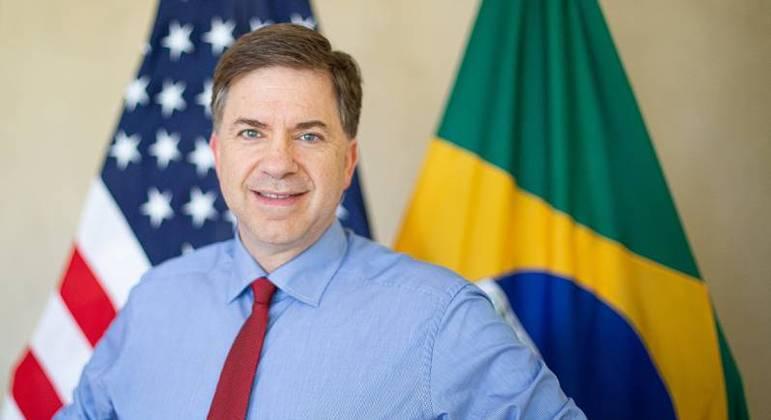 O embaixador dos EUA no Brasil, Todd Chapman