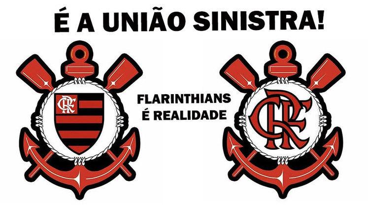 O empate entre Corinthians e Internacional na noite desta quinta-feira acabou dando o título do Brasileirão 2020 para o Flamengo. Como o time carioca perdeu para o São Paulo, os rubro-negros não pouparam brincadeiras nas redes sociais agradecendo ao Timão, criando até a Flarinthians. Veja alguns memes! (Por Humor Esportivo)