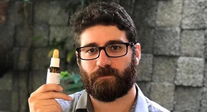O empresário Felipe Farias é um dos diretores da ONG Reconstruir, que produzia óleo de Cannabis até outubro do ano passado