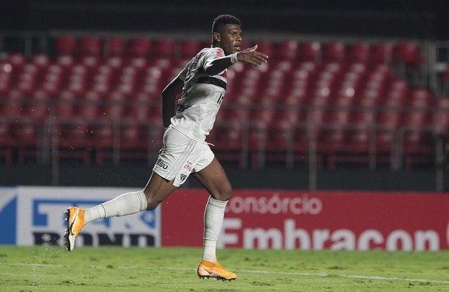 O equatoriano balançou as redes na primeira partida de Hernán Crespo pelo São Paulo, o empate por 1 a 1 contra o Botafogo-SP, na primeira rodada do Paulistão de 2021.