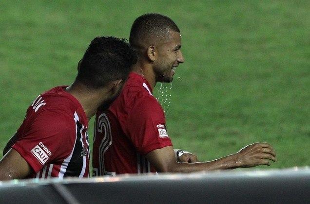 O equatoriano deu, também, uma assistência nessa temporada, também na partida contra a Inter de Limeira. O autor do gol foi Luciano.