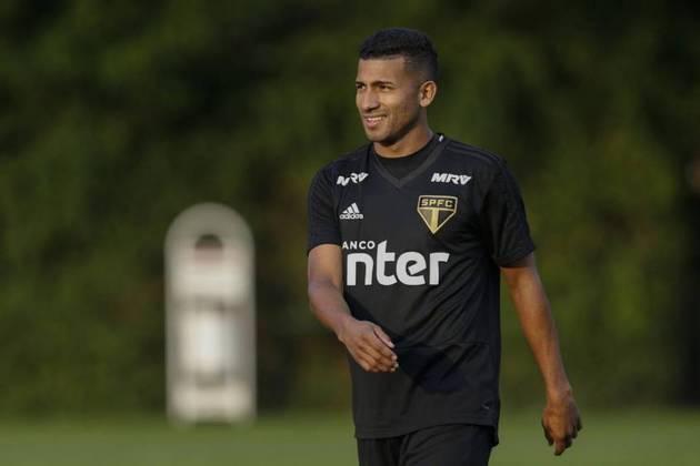 O equatoriano João Rojas tem contrato com o São Paulo até o final de maio de 2021.
