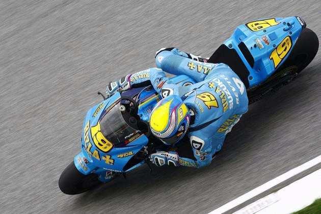 O espanhol Álvaro Bautista estava na Suzuki