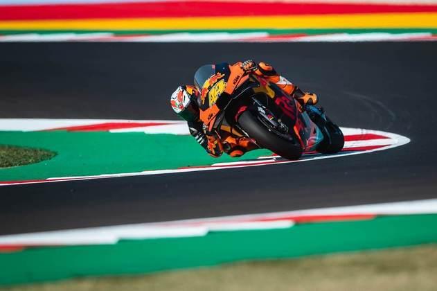O espanhol ficou atrás apenas de Quartararo e Morbidelli, ambos da Yamaha