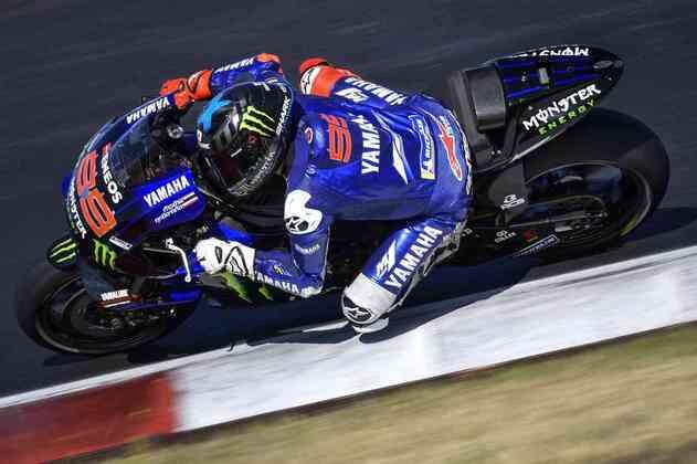 O espanhol lamentou andar com uma moto de 2019, pois a equipe japonesa não conseguiu deixar a de 2020 pronta a tempo