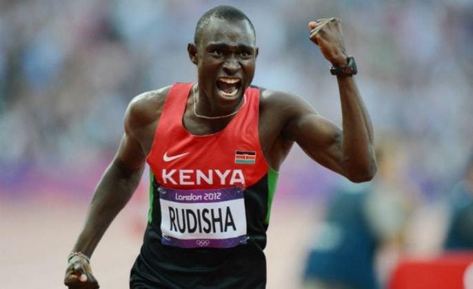 O etíope David Rudisha é o dono do recorde olímpico dos 800 metros. O meio-fundista quebrou a marca histórica nos Jogos Olímpicos de Londres, na Grã-Bretanha, disputados em 2012.