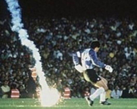 O ex-goleiro do São Paulo, o chileno Roberto Rojas, treinou a equipe em 2003. O goleiro é lembrado pela polêmica contra o Brasil, em 1989, quando se cortou com navalhas para acusar a torcida do Brasil. Ele foi banido do futebol