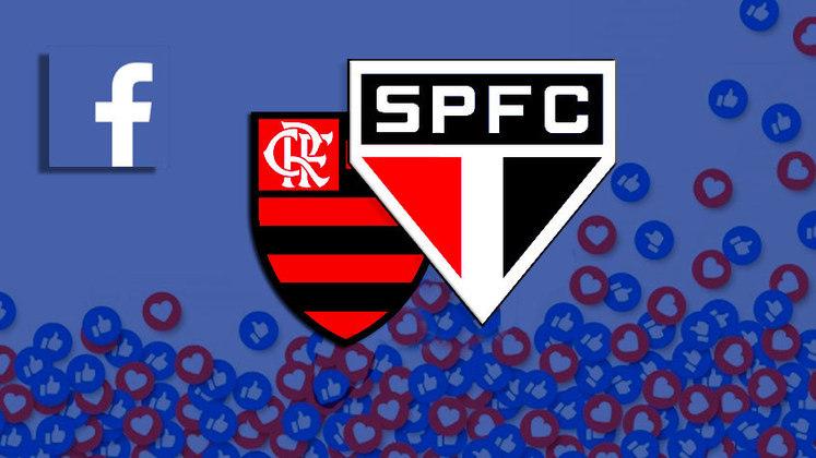 O Facebook divulgou nesta semana o ranking de interação dos clubes da América do Sul na rede social. O São Paulo está na frente do Flamengo na lista divulgada, que conta com outras equipes brasileiras. Veja na galeria a seguir as posições de cada clube e o número de interações: