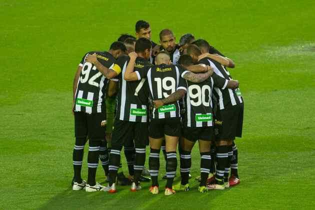 O Figueirense foi da Série A para a Série B em 2008, 2012 e 2016.