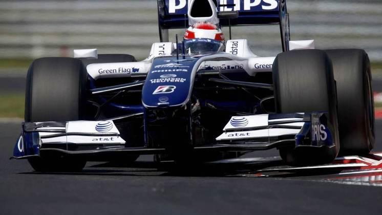 O filho Kazuki correu pela Williams entre 2007 e 2009