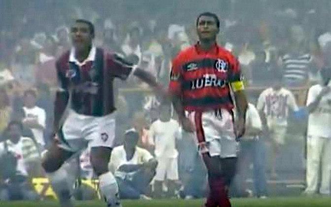 O Fla-Flu do primeiro turno, em 12 de fevereiro de 1995, marcou a estreia oficial de Romário com a camisa 11 flamenguista. Entretanto, um nome tricolor roubou a cena: Lima. O zagueiro, que era uma das novidades da equipe para aquele ano, não desgrudou do Baixinho e garantiu um empate em 0 a 0.