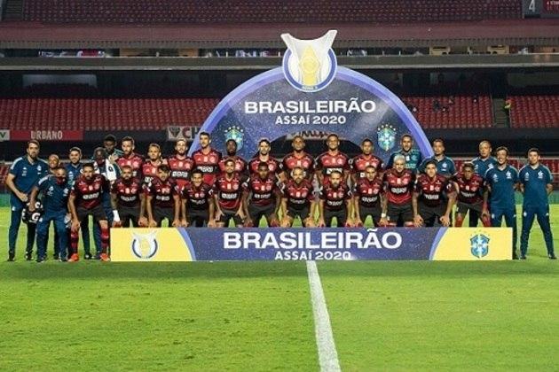 O Flamengo conquistou o título do Brasileirão, nesta quinta-feira, apesar de perder para o São Paulo por 2 a 1. Confira os números dos jogadores do elenco rubro-negro na campanha vitoriosa (via Footstats).