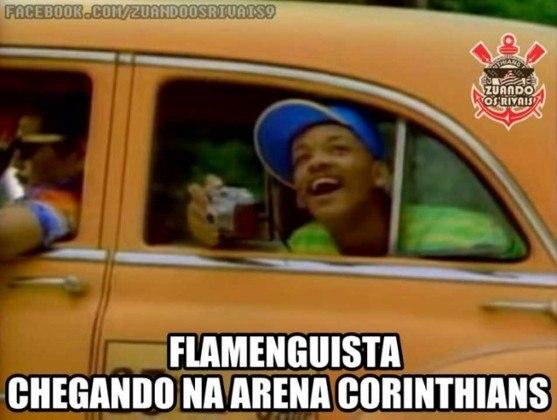 O Flamengo é alvo dos rivais por não ter estádio próprio