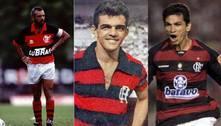 Veja 25 jogadores nordestinos marcantes na história do Flamengo
