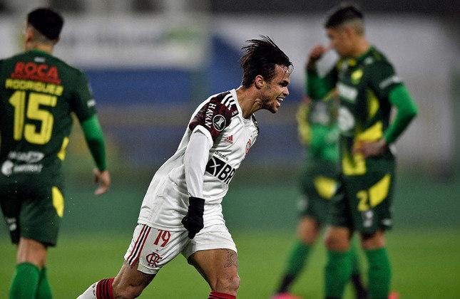 O Flamengo venceu fora de casa, no jogo de ida, por 1 a 0. Agora, o Rubro-Negro pode até empatar em casa que avança. Em caso de derrota por 1 a 0, a decisão vai para os pênaltis. Quem se classificar pega Olimpia ou Internacional.