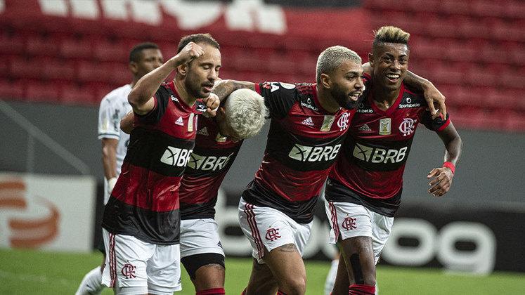 O Flamengo venceu o Palmeiras nesta quinta-feira, no Mané Garrincha, por 2 a 0 e subiu para a terceira posição do Brasileirão. Sem grandes atuações individuais, as apostas de Ceni mostraram-se acertadas. Confira as notas do LANCE! (Por Matheus Dantas - matheusdantas@lancenet.com.br)