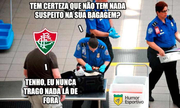 O Fluminense sofre pela ausência de títulos internacionais, principalmente a Libertadores da América, e já ganhou o apelido de