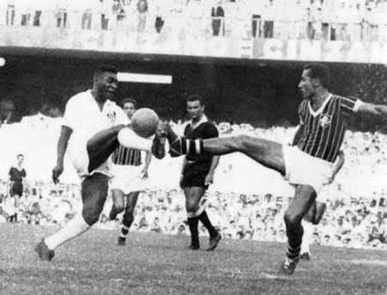 O Fluminense sofreu cinco gols de Pelé. O