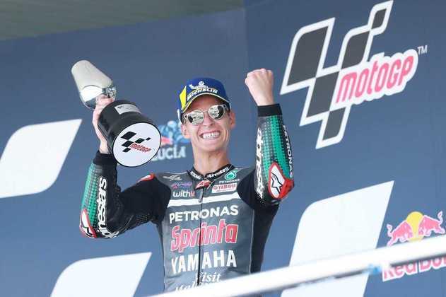 O francês triunfou também na segunda etapa do ano, também em Jerez, e voltou a vencer no GP da Catalunha