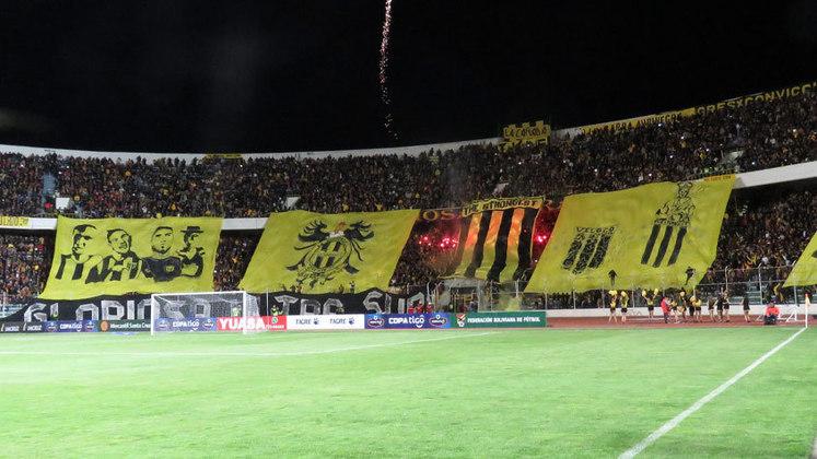 O futebol boliviano nunca viu o The Strongest rebaixado.
