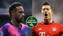 Neymar e Lewandowski podem sair de PSG e Bayern: O Dia do Mercado