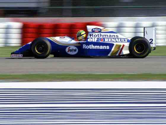 O FW16 foi o último carro de Ayrton Senna na Fórmula 1, em 1994. Mesmo com o tricampeão, sofria com a força da Benetton na temporada