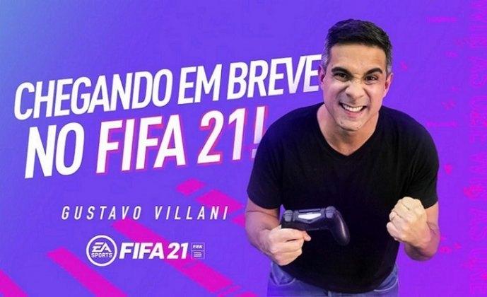 O game Fifa começou a ser narrado em português em 1999. Gustavo Villani foi anunciado como novo narrador em 2021. Você se lembra quais foram os outros brasileiros no game? Confira!