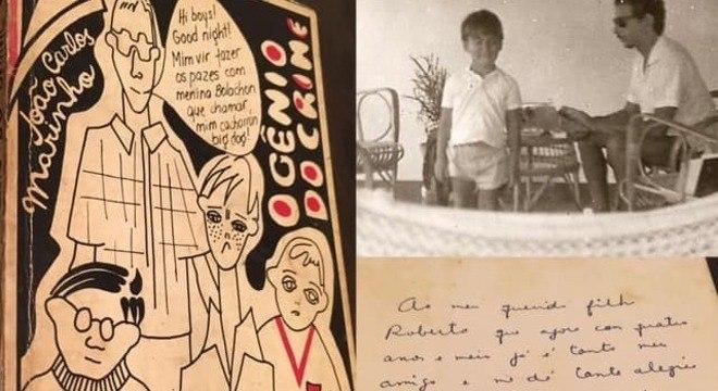 Furquim guarda dedicatória de livro escrita por seu pai