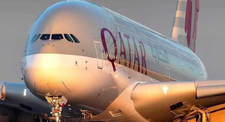 O gigante A380 da Qatar: aposentadoria adiada