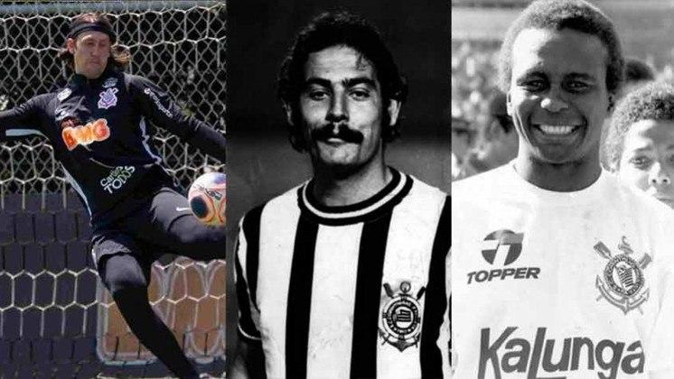 O goleiro Cássio está perto de chegar ao top-10 de jogadores que mais vestiram a camisa do Corinthians na história. Com isso, a reportagem mostra os dez jogadores que mais atuaram pelo clube do Parque São Jorge.