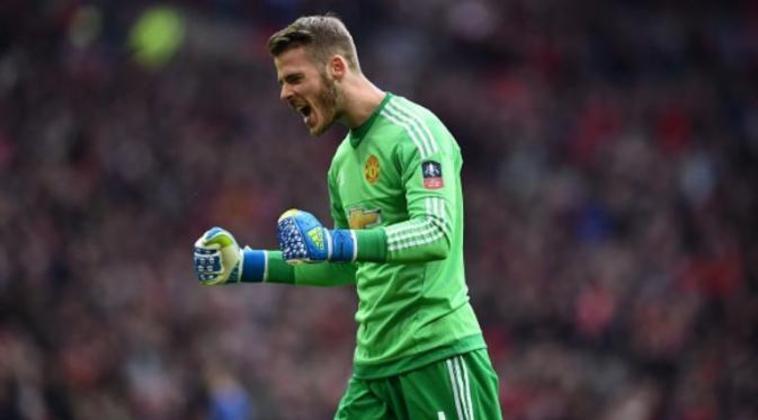O goleiro De Gea está no Manchester United desde 2011