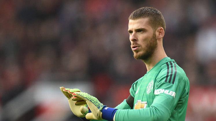 O goleiro espanhol do Manchester United não vive uma boa temporada. De Gea já não vem passando confiança há a algum tempo.