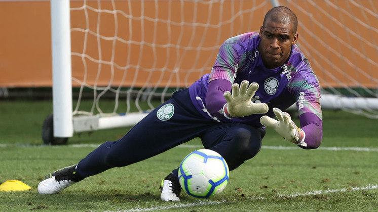O goleiro Jailson também tem contrato com o Palmeiras até dezembro de 2021.