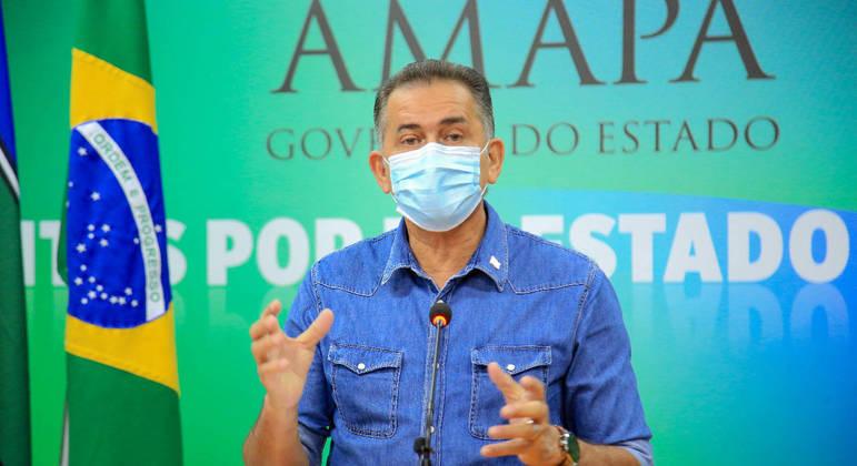 O governador do Amapá, Waldez Góes