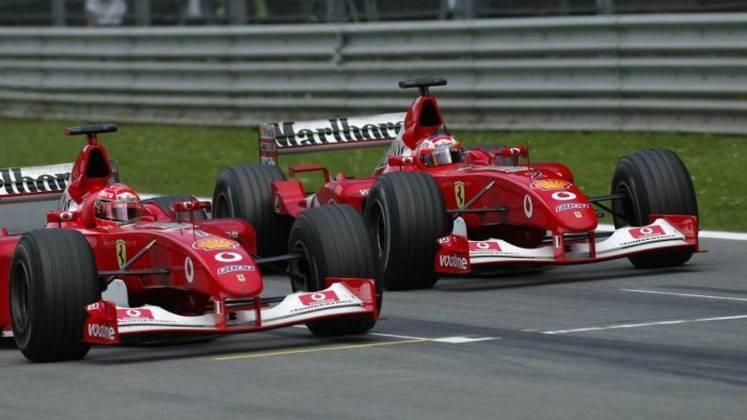 O GP da Áustria de 2002 foi bastante marcante pela ordem da Ferrari para Barrichello deixar Schumacher vencer