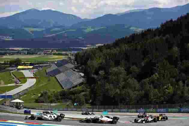 O GP da Áustria de Fórmula 1 aconteceu no belo Red Bull Ring