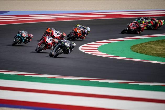 O GP da Emília-Romanha da MotoGP