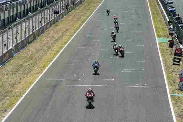 O GP da Espanha da MotoGP (Foto: Suzuki)