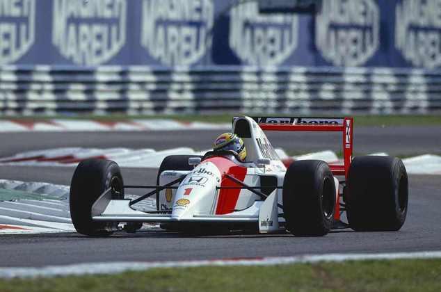 O GP da Itália de 1992 marcou a última vitória de Ayrton Senna pilotando um carro com motor Honda na Fórmula 1