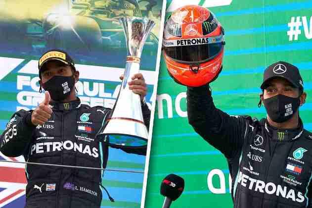 O GP de Eifel foi histórico por marcar a 91ª vitória de Lewis Hamilton na Fórmula 1. Veja a galeria com tudo sobre este dia especial (Por GRANDE PRÊMIO)