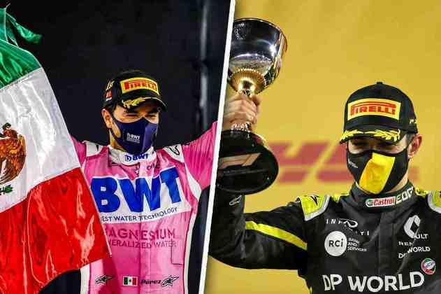 O GP de Sakhir foi histórico e contou com a primeira vitória de Sergio Pérez. Veja as melhores fotos do dia.