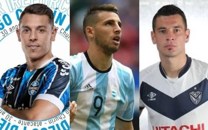 O Grêmio anunciou, na última segunda-feira, a contratação do centroavante Diego Churin. O jogador argentino, de 30 anos, passou quatro temporadas no Cerro Porteño (PAR). Com gancho nesta negociação, confira 15 nomes de atacantes argentinos que teriam espaço nos times brasileiros e são viáveis financeiramente.
