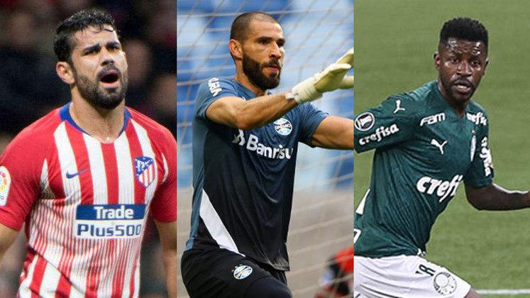 O Grêmio realizou um acordo de rescisão consensual com o goleiro Vanderlei. Dessa forma, o LANCE! reuniu 20 nomes de jogadores brasileiros que estão sem clube. Confira!