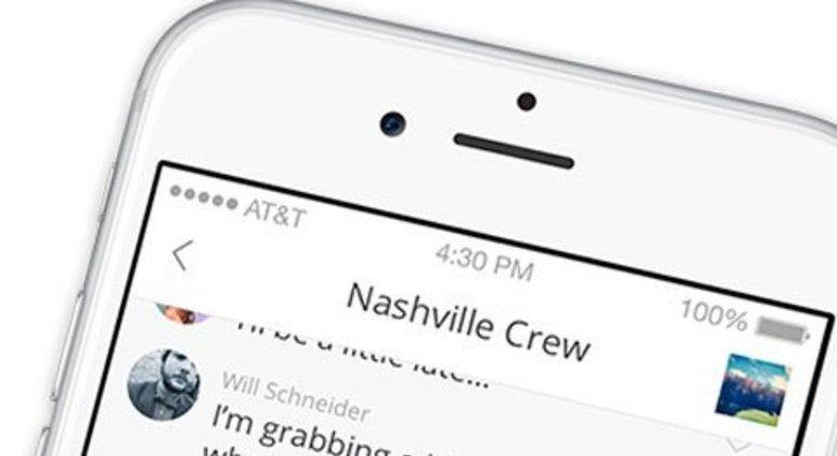 O Groupme é um pouco diferente dos demais aplicativos. Ele é voltado para conversas de grupo online e offline. Ou seja, ele permite que o usuário receba e envie mensagens mesmo desconectado da internet, sendo cobrado, posteriormente, pela operadora telefônica. O app também foi lançado em 2010.