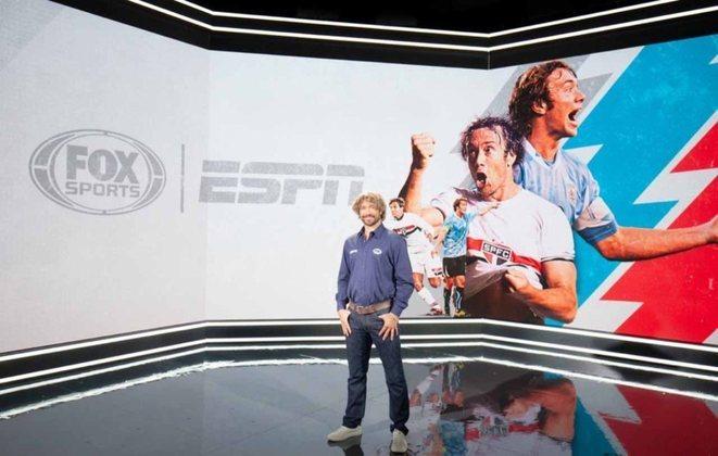 O Grupo Disney contratou o ex-jogador Diego Lugano para ser comentarista dos canais Fox Sports/ESPN.